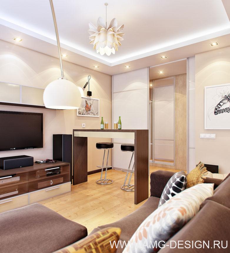 Дизайн интерьера квартиры на