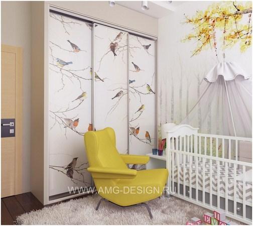 Дизайн интерьера детской в доме на